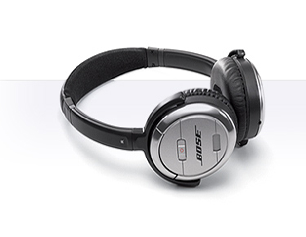 Bose QuietComfort 3 Acoustic Cancelling Headphones, $349.95      This convenient and compact on-ear headset is a great travel accessory.  Just pack your light-weight QC3's in its trim carrying case and up and go. Its rechargeable lithium-ion battery provides 25 hours of listening pleasure when it's fully charged and a lifespan of nearly 500 charging cycles, so users can listen to clear, sharp audio with little or no noise interference.  It's compatible with the Apple iPhone, and most MP3 players and iPod models.