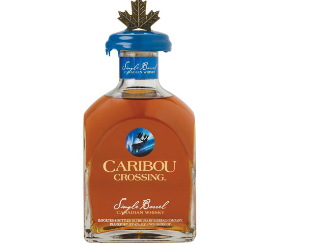 Caribou Crossing Single Barrel Canadian Whisky, $45