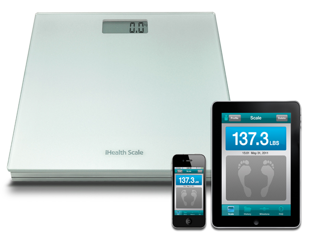 iHealth Digital Scale with Bluetooth Technology, $69.95   