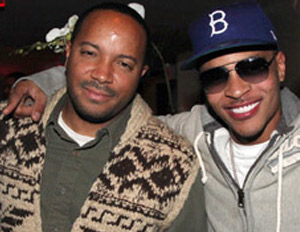 T.I. and manager/business manager Jason Geter