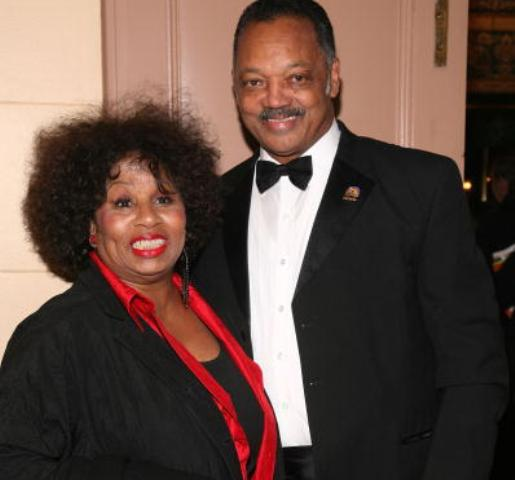 Rev. Jesse Jackson and wife Jacqueline Jackson