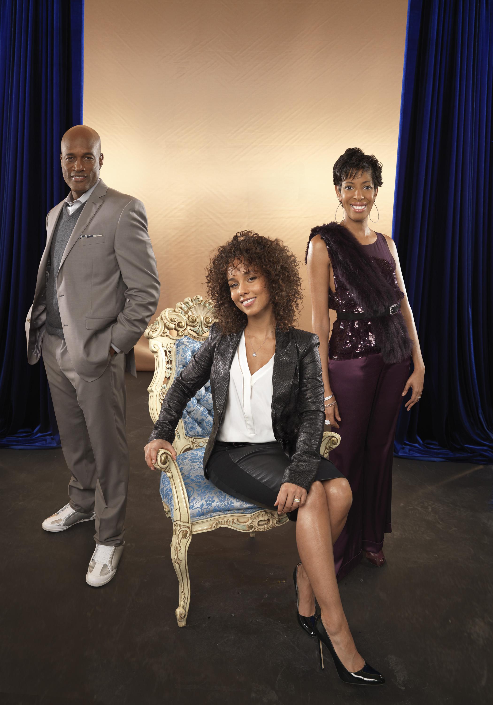 R&B superstar Alicia Keys (center) and producers Kenny Leon and Lydia Diamond (Photo: Lonnie C. Major)