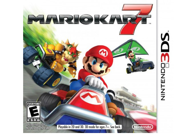 Mario Kart 7, $40