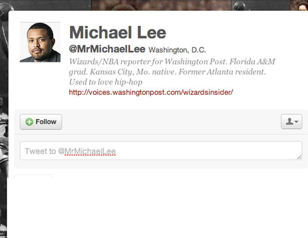 MICHAEL LEE @MrMichaelLee