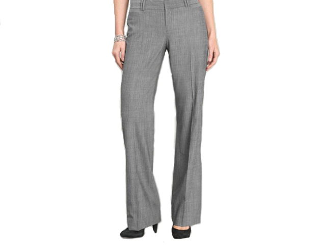 "Elegant Pants: ""You'll get a lot of repeat wear out of these,"" Taylor says. Invest in a great silhouette in quality fabrics and a nice color palate that complements you. If you're tall like the First Lady, these lightweight wool Banana Republic pants ($110) come in long lengths."