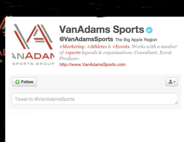 VAN ADAMS @VanAdamsSports