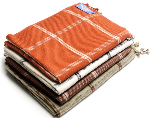Himalayan cashmere throw, $110