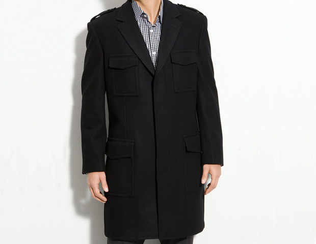 Ben Sherman Topcoat, $395 