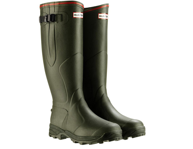 Hunter Balmoral Bamboo Carbon Wellies, $195