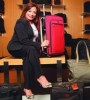 Evelyn Negron, store manager for Innovation Luggage in NYC (Photo by Lonnie C. Major)