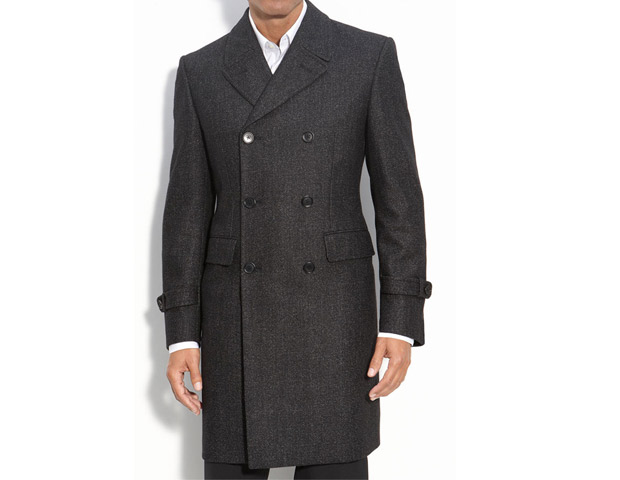 John Varvatos Topcoat, $495