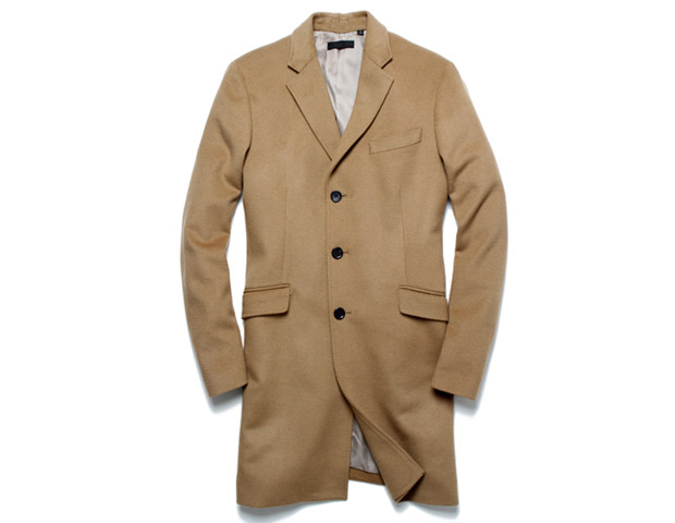 Uniqlo Grey Topcoat, $150