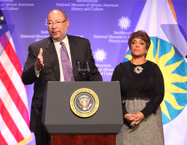 Richard Parsons, Chairman of Citigroup, and Linda Johnson Rice, Chairman of Johnson Publishing Co., serve as co-chairs of the advisory board, which has helped raise more than $100 million in cash and commitments from corporations, foundations and individuals.