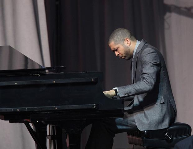 "Jazz pianist Jason Moran offers his tribute by playing Duke Ellington's ""I Like the Sunrise."""