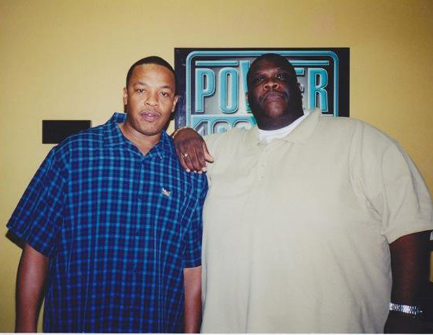 BEFORE: Big Boy with legendary West Coast producer Dr. Dre