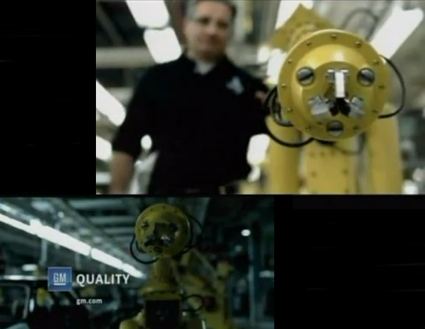 "2007: General Motors' ""Robot""