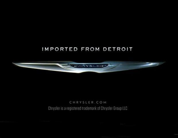 "2011: Chrysler's ""Imported From Detroit"" 