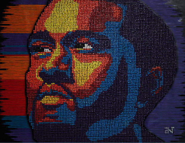 Kanye West re-imagined by Woolery's creativity