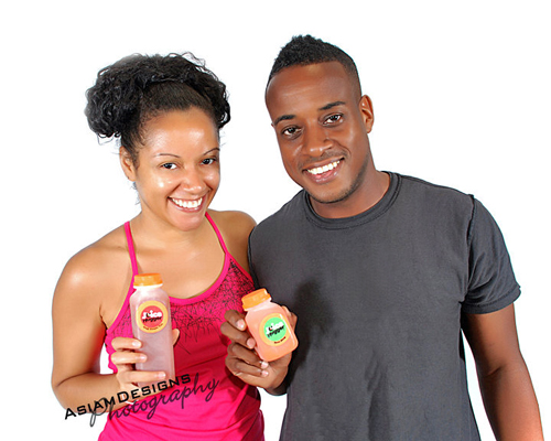 Kelly Keelo and Carl Foster, Owners of Juice Hugger.
