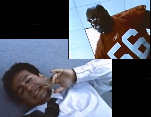 "2003: Reebok's ""Terry Tate-Office Linebacker""