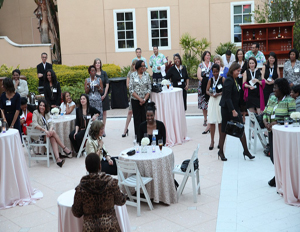 Attendees mix and mingle at Black Enterprise's 7th Annual Women of Power Summit (Image: File)