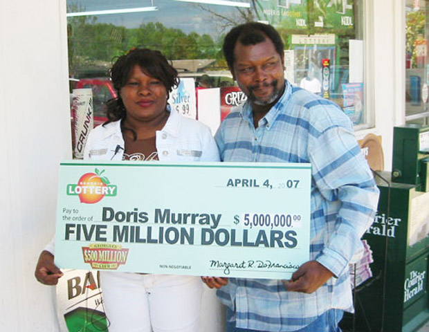 Doris Murray won $5 million in the Georgia in 2008. She was not around long enough to spend it, however.  Nearly a year after the win, she was killed in her home by her ex-boyfriend Derrick Stanley.
