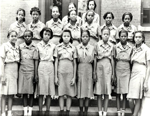 When the Girl Scouts of America was initially founded in March 1912,  there was no African American inclusion, but the organization has always  been one to teach universal skills that could help advance all girls  and women. Just as strides were made nationwide on inclusion and racial  equality, the Girls Scouts would have a groundbreaking moment when the  first black troupe was founded in 1917.