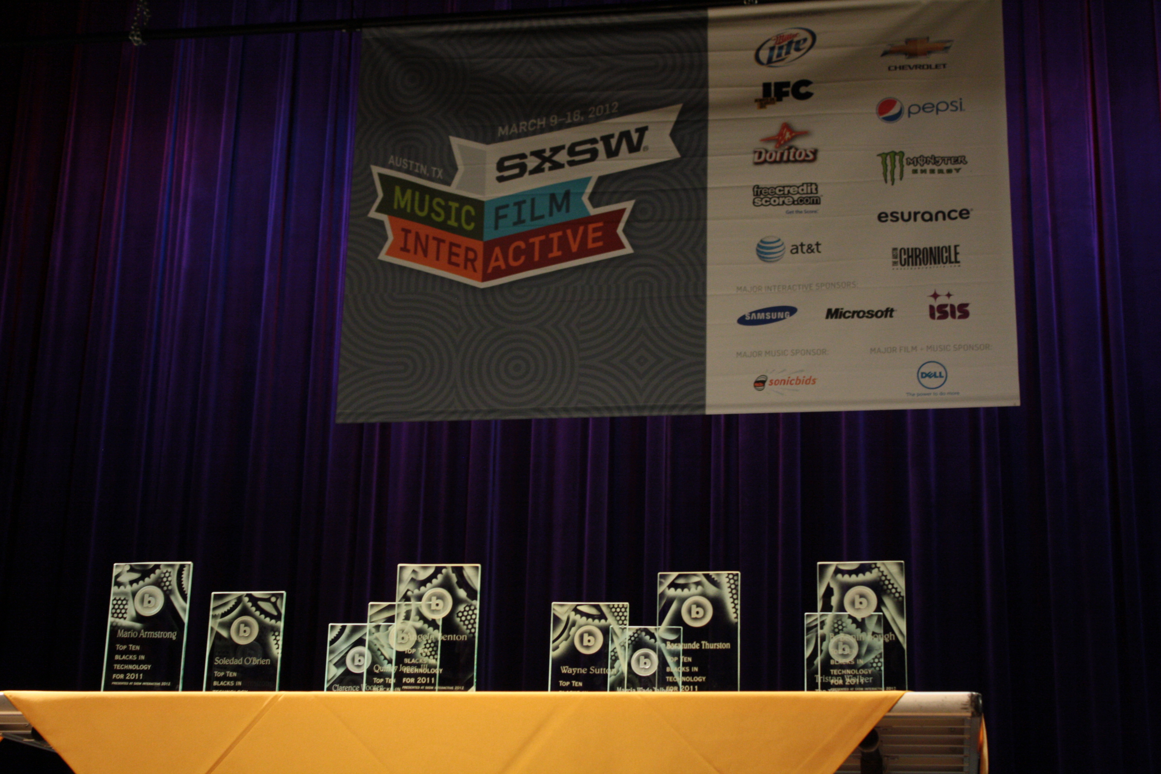Blacks in Technology (BiT) celebrate people of color at the 2012 SXSW Interactive conference (Image: Winston Ford)