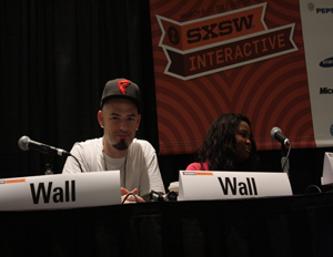 Texas-born rapper Paul Wall and wife Crystal Wall talk health and wellness in urban communities at 2012 SXSW Interactive Festival (Image: Winston Ford)