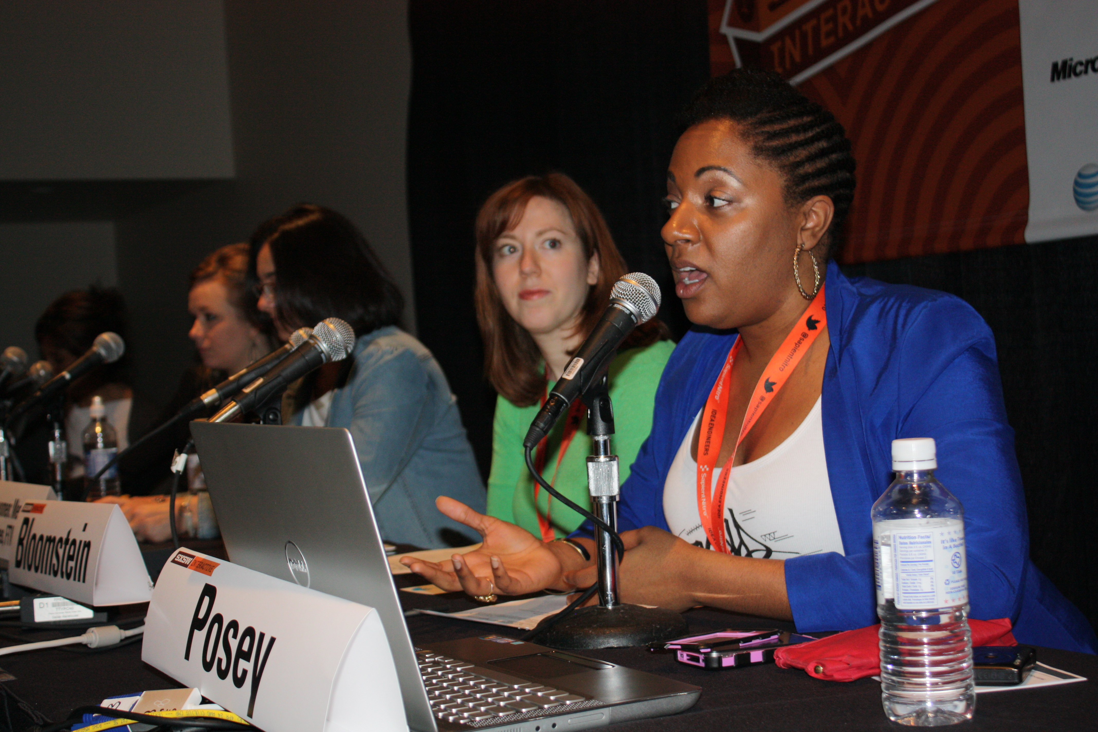 Founder of Tech by Superwomen Cathryn Posey and panelists explore the keys to fostering a successful and worthwhile mentorship experience  (Image: Mary Pryor)
