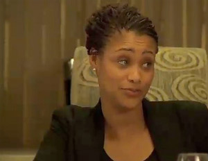 """Tami Roman in character in a scene from """"Life, Love, Soul"""""""