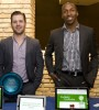 Benjamin Lamson and Sulaiman Sanni, co-owners of WeDidIt, a Brooklyn, N.Y.-based web-based, online crowd-funding platform for non-profit organizations, earned a $25,000 grant in the MillerCoors Urban Enterprise Series Business Plan Competition last year. (Image by Clifton Henri/Courtesy of MillerCoors)