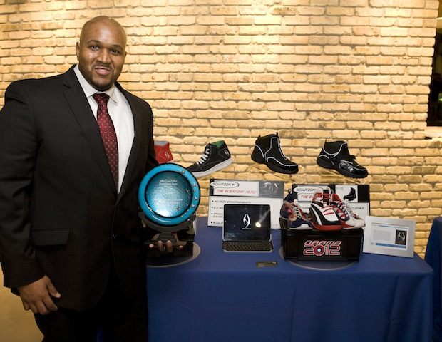Jamein Sills, winner of a $25,000 grant, is an owner of Neimaj, a Memphis-based safety and eco-friendly footwear business.