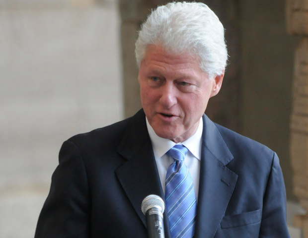 Bill Clinton Delivers Commencement Speech at Howard