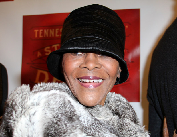 The legendary Cicely Tyson shows her support for A Streetcar Named Desire.