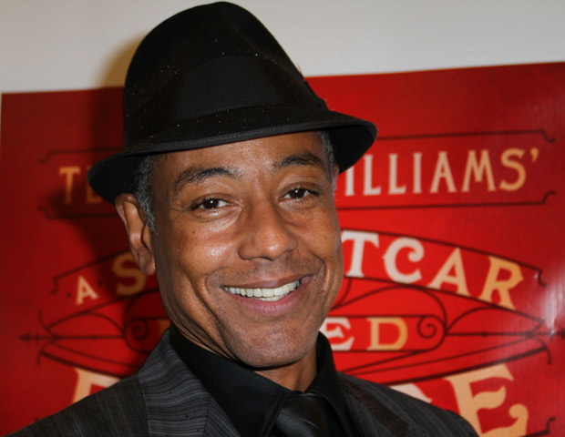 Actor Giancarlo Esposito takes a stroll down the red carpet.