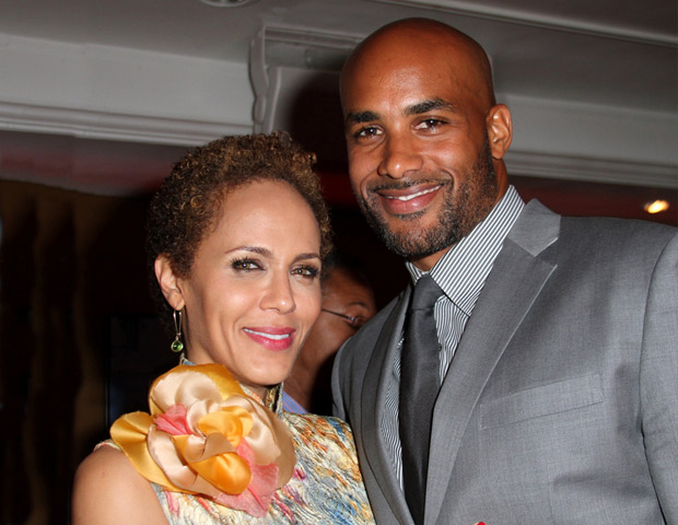 Actor Boris Kodjoe plays the supportive husband to his wife Nicole Ari Parker at the A Streetcar Named Desire preview.