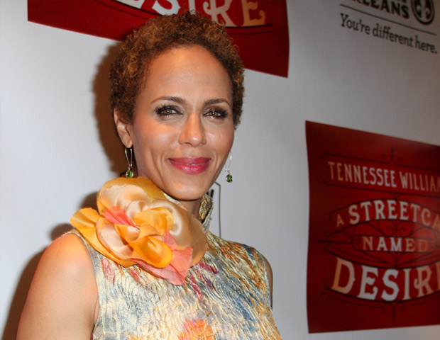 Actress Nicole Ari Parker looks stunning as she walks the red carpet for the A Streetcar Named Desire preview.