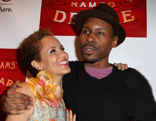 Co-stars Nicole Ari Parker and Wood Harris share the spotlight.