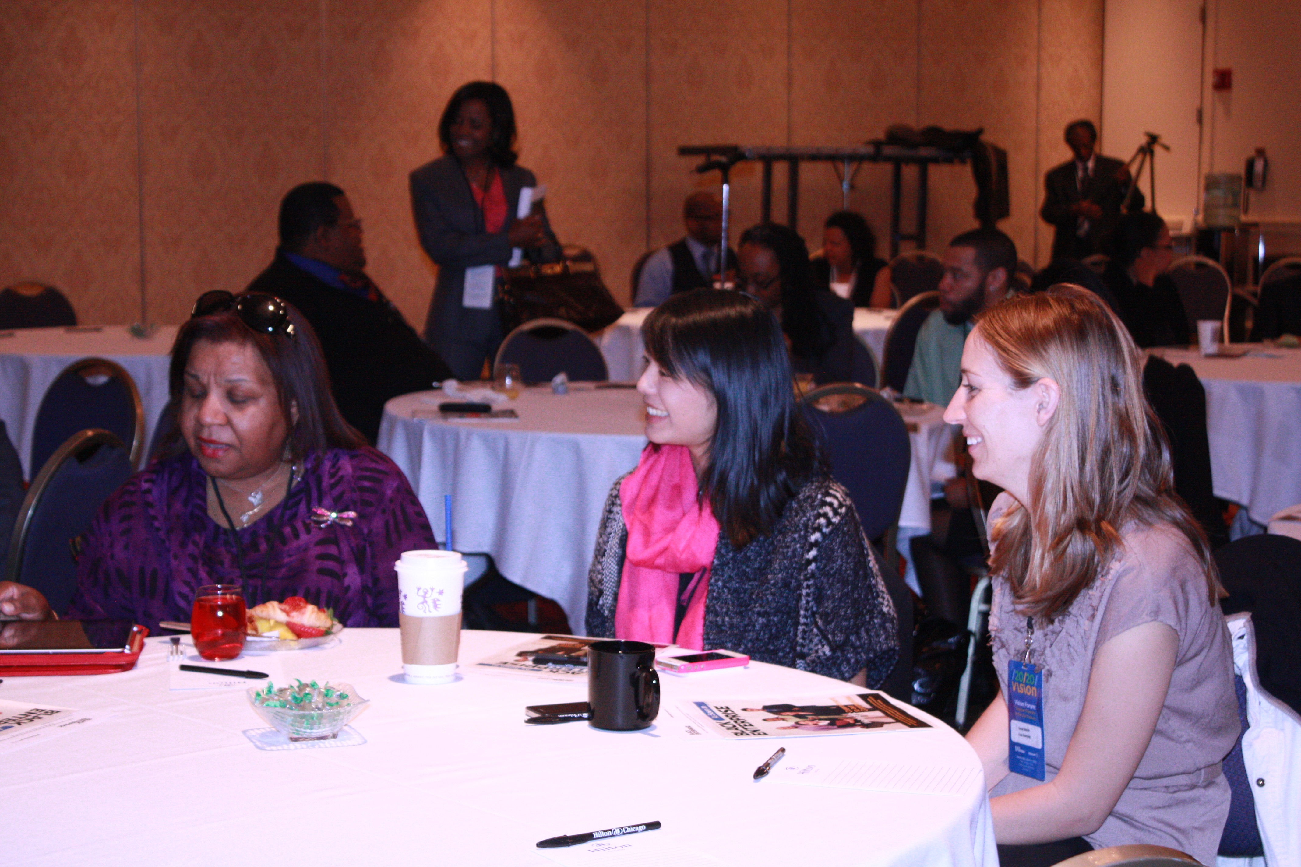 There were people representing a diversity of industries and ethnicities at the Black Enterprise Vision 20/20 Forum about Supplier Diversity in the 21st Century.