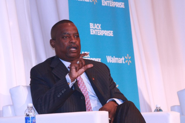 Leon Richardson, CEO of BE 100s company, ChemicoMays (Image: Black Enterprise)