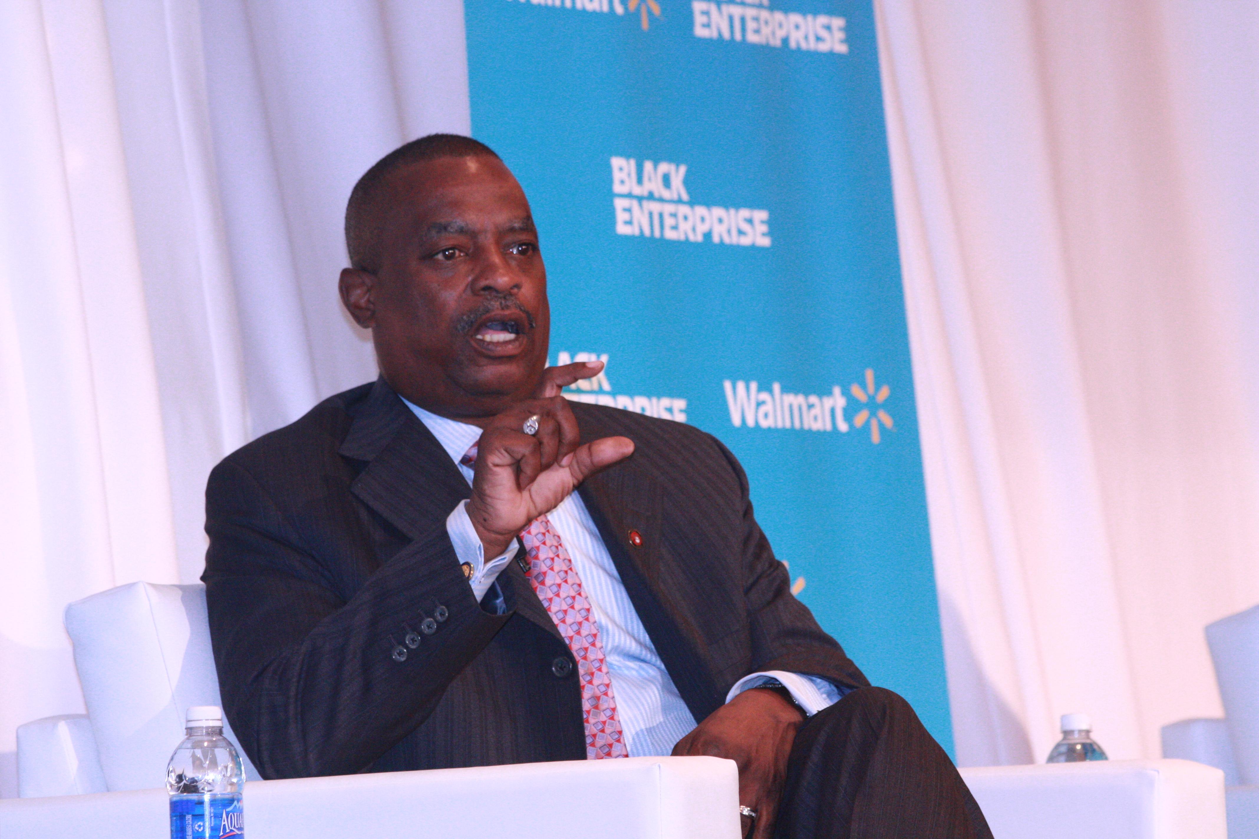 Leon Richardson, CEO of BE 100s company, ChemicoMays (Image: Black Enterprise)
