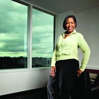 Adriane Brown, President & COO, Intellectual Ventures (Photo by Rick Dahms)