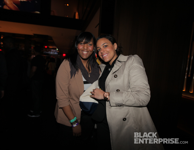 More than a few Twitter followers came out to 40/40 Club New York to kick off Black Blogger Month in a big way