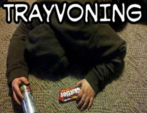 'Trayvoning' Trend Causes Outrage Within Online Community