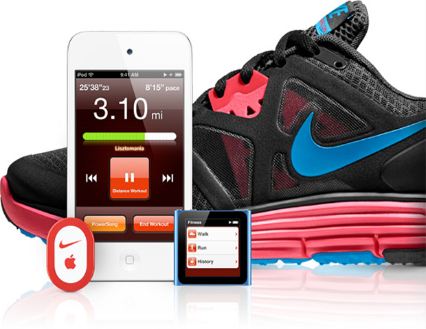 Nike plus+ ipod running sensor track kit run apple nano na0014-100 - 580 грн - купить в украине