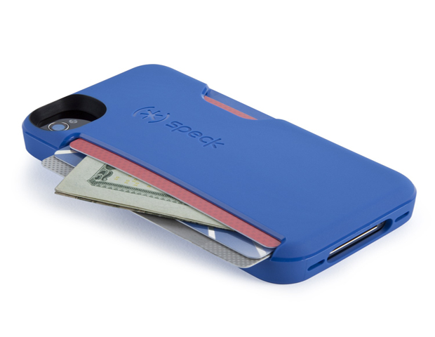 SmartFlex Card Case for iPhone, $34.95  For the Minimalist Mom: She doesn't like carrying her life in her purse, but wants to make sure she has everything she needs. The SmartFlex Card Case for iPhone can carry up to 3 credit-card-sized cards or folded bills in the built-in slot on the back of the phone case, all while protecting the phone. The raised front bezel is important, protecting the screen from damage if or when it comes into contact with other surfaces.