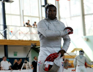 The 21-year-old fencer is a two-time NCAA national title holder, three-time fencing world champion, and currently ranked #1 in the US and #12 in the world (Image: The Grio)