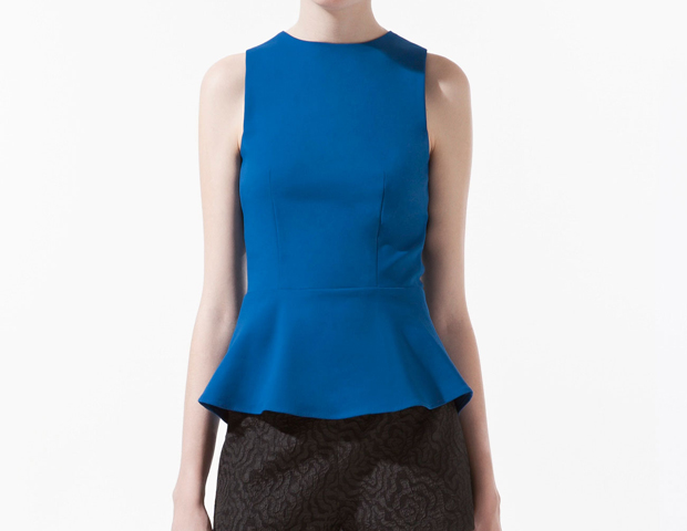 Peplum: This has been worn on the runways and by celebrity trendsetters including Solange, who wore a bright yellow peplum gown by Rachel Roy to this year's Met Gala. You can take this look to work with a peplum top like this Zara option ($59.90), and match it with a pencil skirt and a skinny belt.