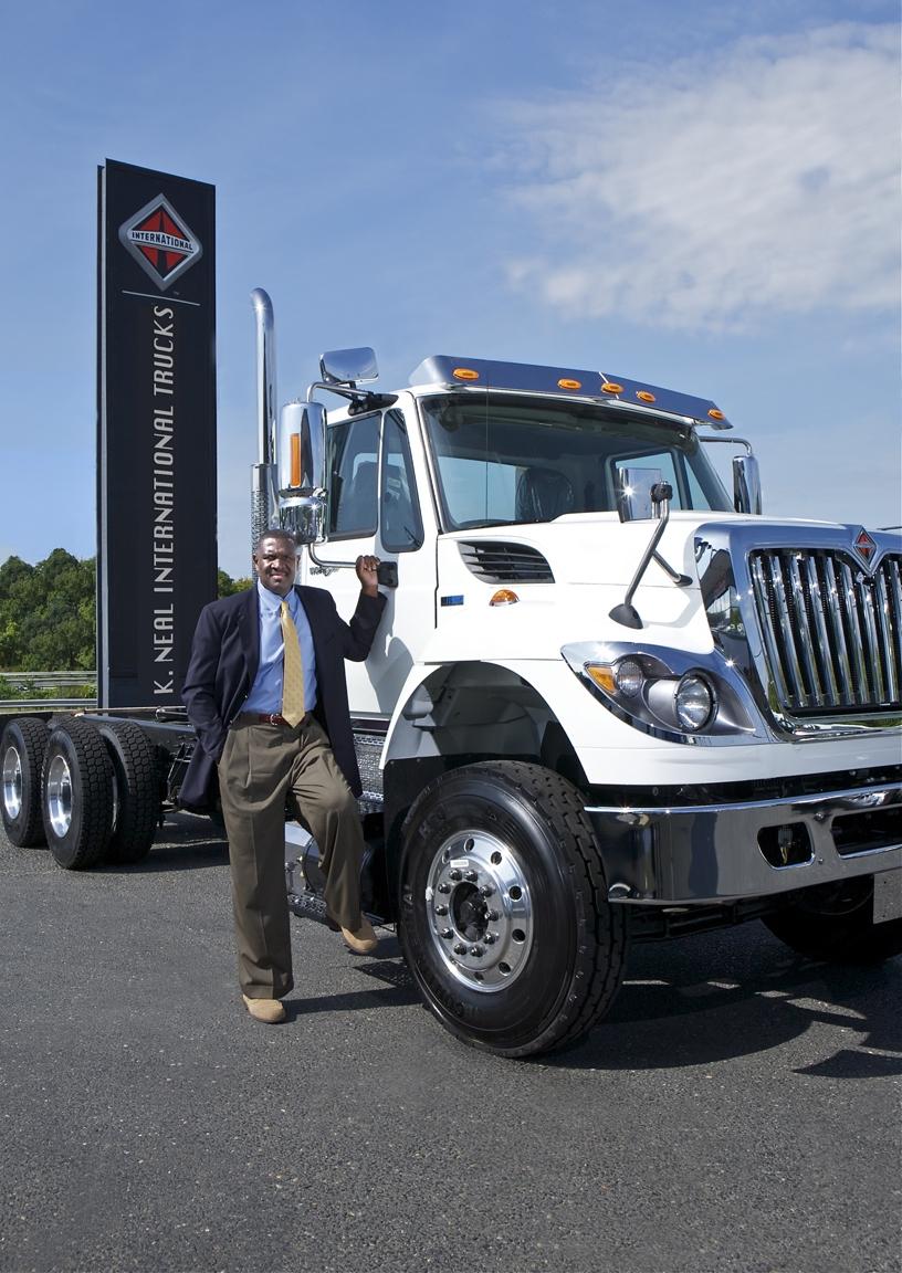 Stephen Neal, CEO of K. Neal International Trucks Inc. (Image: Courtesy of Subject)